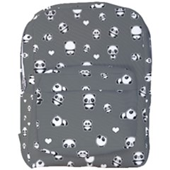 Panda Pattern Full Print Backpack