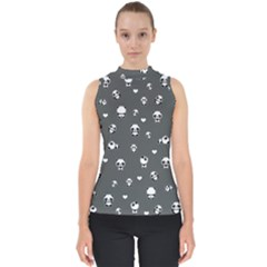 Panda Pattern Shell Top