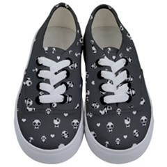 Panda Pattern Kids  Classic Low Top Sneakers