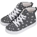 Panda pattern Kid s Hi-Top Skate Sneakers View2