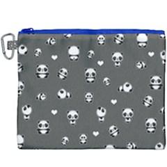 Panda Pattern Canvas Cosmetic Bag (xxxl)