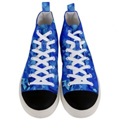 Fun,fantasy And Joy 4 Men s Mid Top Canvas Sneakers