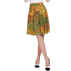 Fun,fantasy And Joy 3 A Line Skirt