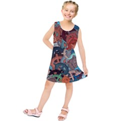 Fun,fantasy And Joy 2 Kids  Tunic Dress