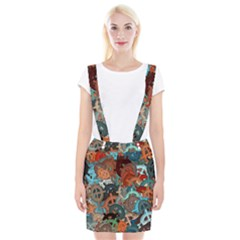 Fun,fantasy And Joy 2 Braces Suspender Skirt
