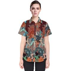 Fun,fantasy And Joy 2 Women s Short Sleeve Shirt