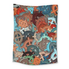 Fun,fantasy And Joy 2 Medium Tapestry