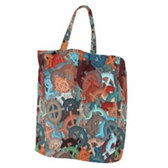 Fun,fantasy And Joy 2 Giant Grocery Zipper Tote