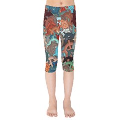 Fun,fantasy And Joy 2 Kids  Capri Leggings