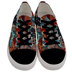 Fun,fantasy And Joy 2 Men s Low Top Canvas Sneakers