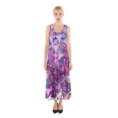 Fun,fantasy And Joy 7 Sleeveless Maxi Dress