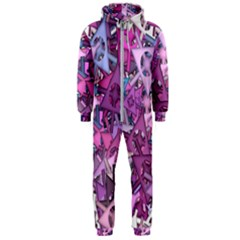 Fun,fantasy And Joy 7 Hooded Jumpsuit (men)