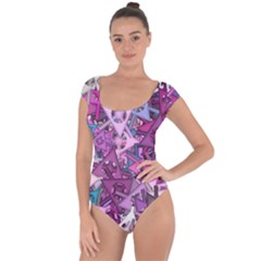 Fun,fantasy And Joy 7 Short Sleeve Leotard
