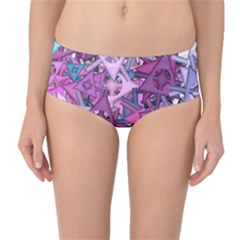 Fun,fantasy And Joy 7 Mid Waist Bikini Bottoms