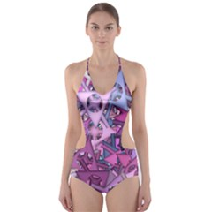 Fun,fantasy And Joy 7 Cut Out One Piece Swimsuit