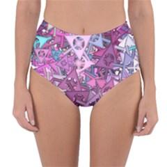 Fun,fantasy And Joy 7 Reversible High Waist Bikini Bottoms