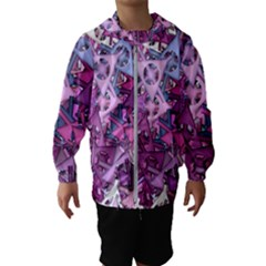 Fun,fantasy And Joy 7 Hooded Wind Breaker (kids)
