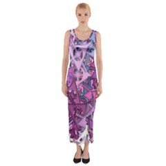 Fun,fantasy And Joy 7 Fitted Maxi Dress