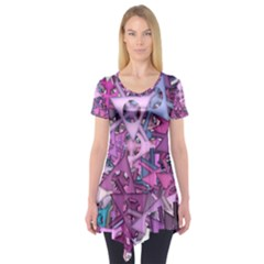 Fun,fantasy And Joy 7 Short Sleeve Tunic