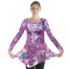Fun,fantasy And Joy 7 Long Sleeve Tunic