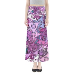 Fun,fantasy And Joy 7 Full Length Maxi Skirt