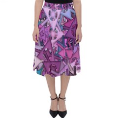 Fun,fantasy And Joy 7 Folding Skater Skirt