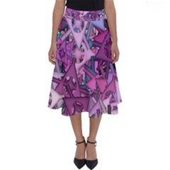 Fun,fantasy And Joy 7 Perfect Length Midi Skirt