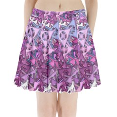 Fun,fantasy And Joy 7 Pleated Mini Skirt