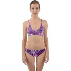 Fun,fantasy And Joy 7 Wrap Around Bikini Set