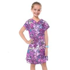 Fun,fantasy And Joy 7 Kids  Drop Waist Dress