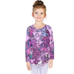 Fun,fantasy And Joy 7 Kids  Long Sleeve Tee
