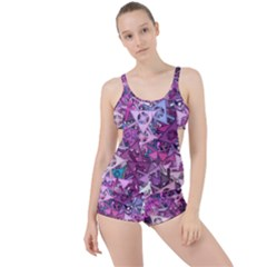 Fun,fantasy And Joy 7 Boyleg Tankini Set