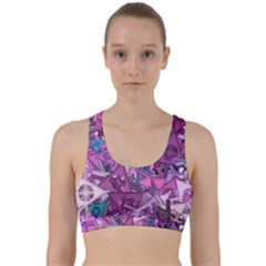 Fun,fantasy And Joy 7 Back Weave Sports Bra