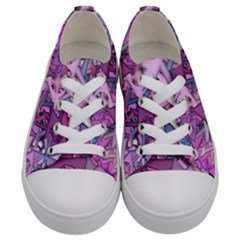 Fun,fantasy And Joy 7 Kids  Low Top Canvas Sneakers