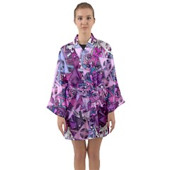 Fun,fantasy And Joy 7 Long Sleeve Kimono Robe