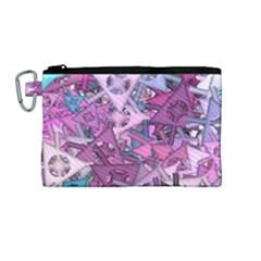 Fun,fantasy And Joy 7 Canvas Cosmetic Bag (medium)