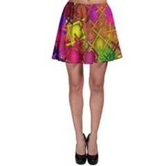 Fun,fantasy And Joy 5 Skater Skirt