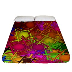 Fun,fantasy And Joy 5 Fitted Sheet (queen Size)