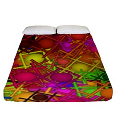 Fun,fantasy And Joy 5 Fitted Sheet (king Size)