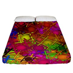 Fun,fantasy And Joy 5 Fitted Sheet (california King Size)