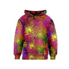 Fun,fantasy And Joy 5 Kids  Pullover Hoodie