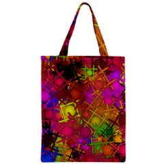 Fun,fantasy And Joy 5 Zipper Classic Tote Bag