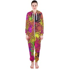 Fun,fantasy And Joy 5 Hooded Jumpsuit (ladies)