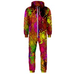 Fun,fantasy And Joy 5 Hooded Jumpsuit (men)