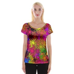 Fun,fantasy And Joy 5 Cap Sleeve Tops