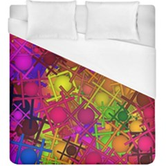 Fun,fantasy And Joy 5 Duvet Cover (king Size)