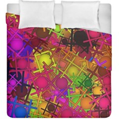 Fun,fantasy And Joy 5 Duvet Cover Double Side (king Size)
