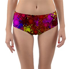 Fun,fantasy And Joy 5 Reversible Mid Waist Bikini Bottoms