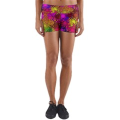 Fun,fantasy And Joy 5 Yoga Shorts