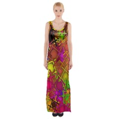 Fun,fantasy And Joy 5 Maxi Thigh Split Dress
